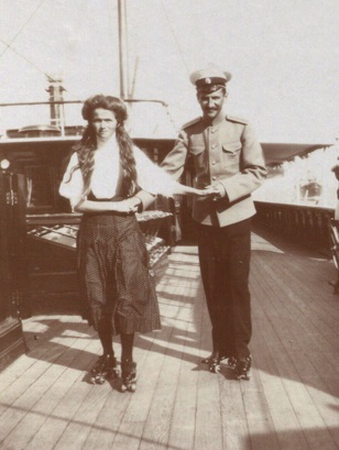 You are currently viewing My Grandfather and the Grand Duchess Olga Nikolaevna