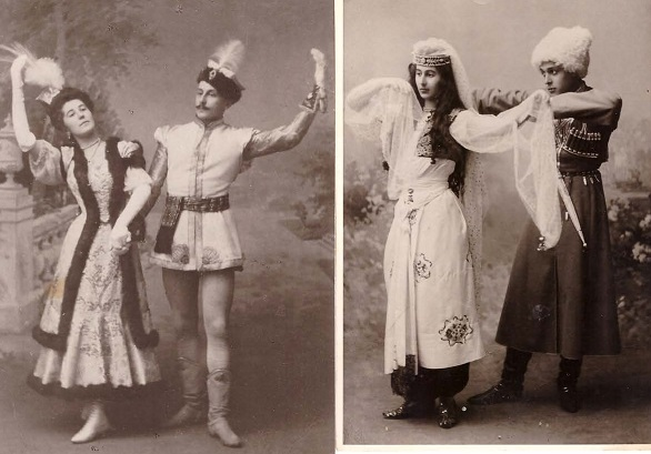 Old Photographs, Russian Costumes and Mysterious Men