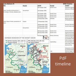 Timelines – Mapping His Story against History