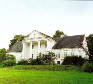 The haunted manor house where she was born