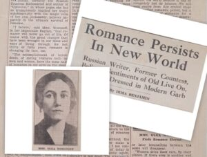 Read more about the article The former Russian Countess turned Writer – she found romance to be eternal