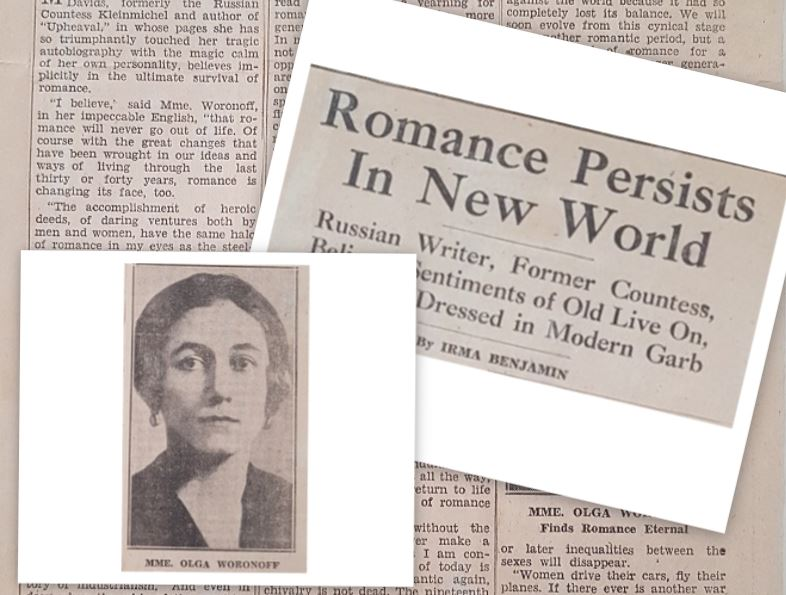 You are currently viewing The former Russian Countess turned Writer – she found romance to be eternal